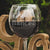 Etched Red Wine Glass - Design: FIANCEE