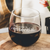 Etched Stemless Red Wine Glasses - Design: Quarantine Essential