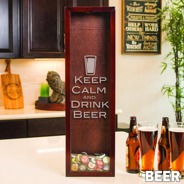 Small Rectangle Drop Box - Design: Beer