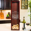 Small Rectangle Wine Cork Holder - Design: Good