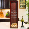 Small Rectangle Wine Cork Holder - Design: Story