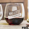 Stemless Red Wine Glass - Feel