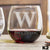 Etched Stemless Red Wine Glasses - Design: K2 Monogram