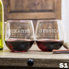 Stemless Red Wine Glass - Design: S1