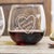 Stemless Red Wine Glass - Ladies