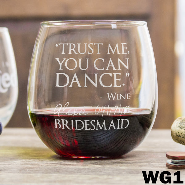Stemless Red Wine Glass - WG1