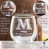 Stemless Red Wine Glass - Design: Whiskey