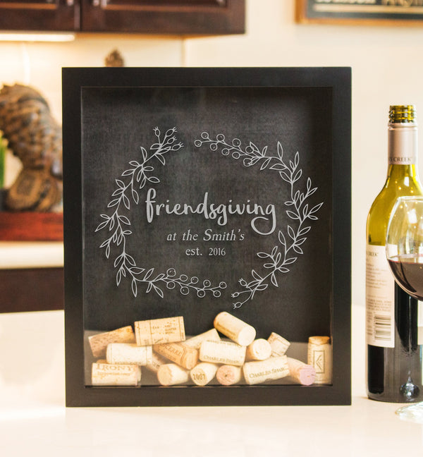 Small Square Drop Box - Friendsgiving TG2