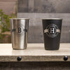 16 oz Stainless Steel Pint Glass - Design: B1WP