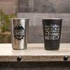 16 oz Stainless Steel Pint Glass - Design: Custom Design/Logo