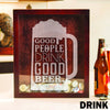 Small Square Drop Box - Design: DRINK