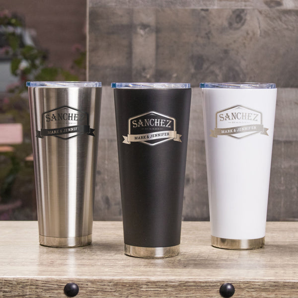 24oz Metal Tumbler - Design: L3