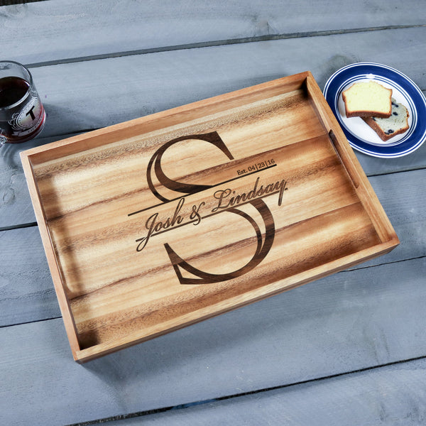 Large Wood Tray - Design: K3