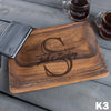 Small Wood Tray - Design: K3