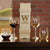 Wine Bottle Box With Wine Glasses - Design: K2