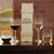 Wine Bottle Box With Wine Glasses - Design: L3