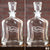 Engraved Whiskey Decanter Groomsmen or Bridesmaids - Design: B2