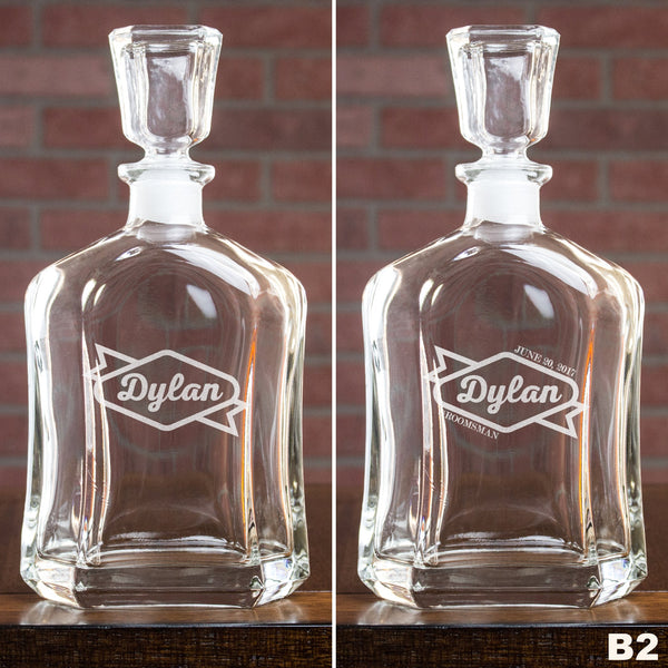 Whiskey Decanter - Design: B2