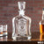Engraved Whiskey Decanter - Design: WD3 Personalized