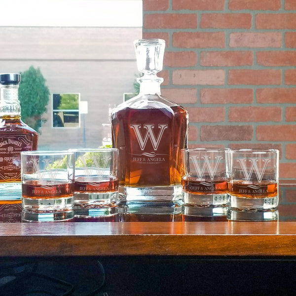 Whiskey Decanter and Glass Set - Design: K2