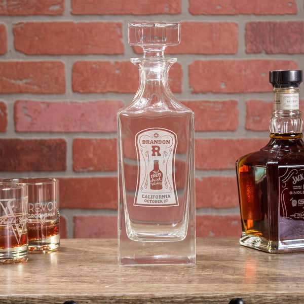 Whiskey Decanter - Design: WD2