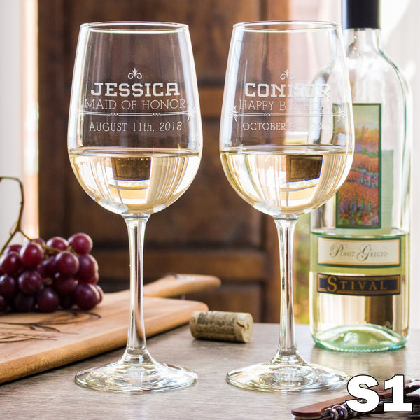 White Wine Glass - Design: S1