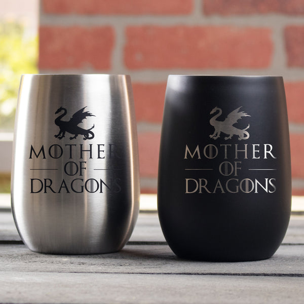 Game of Thrones Engraved Wine Tumblers Mother's Day - Design: MD7