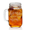 Engraved Mason Jars - Designs: Mother's Day Home
