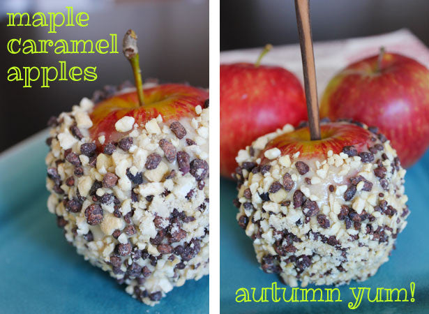 Maple Caramel Apples