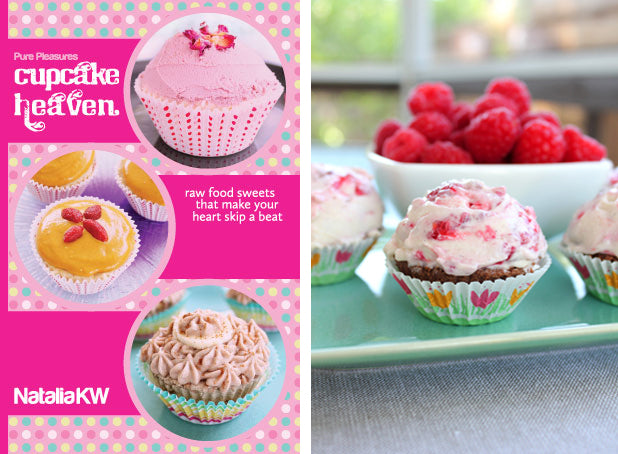 Cupcake Heaven Raw Vegan Recipe Book
