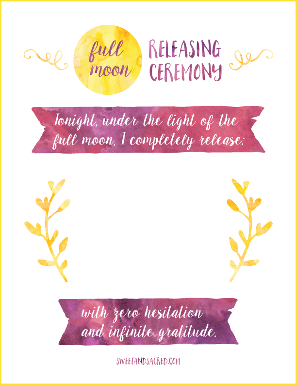 Full Moon Printable