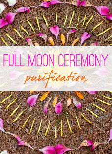 Energy Clearing Ceremony for the Full Moon