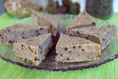 Raw Vegan Cacao Chip Bars