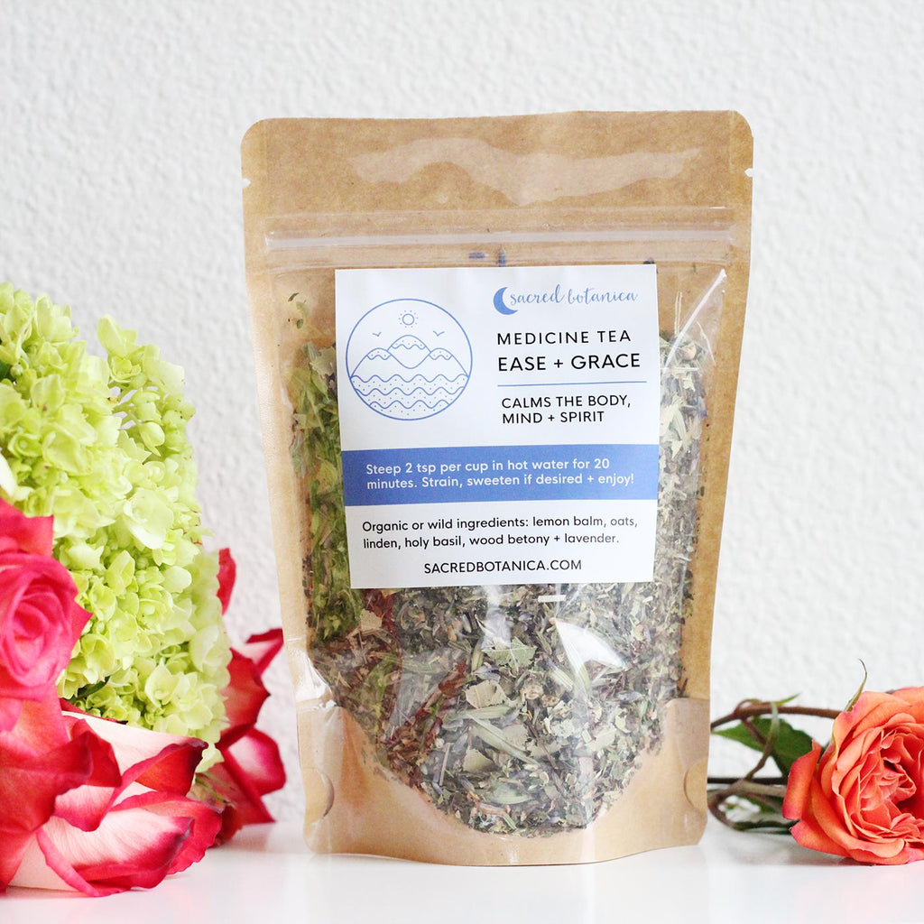 Ease + Grace Tea - Soothes the Nervous System