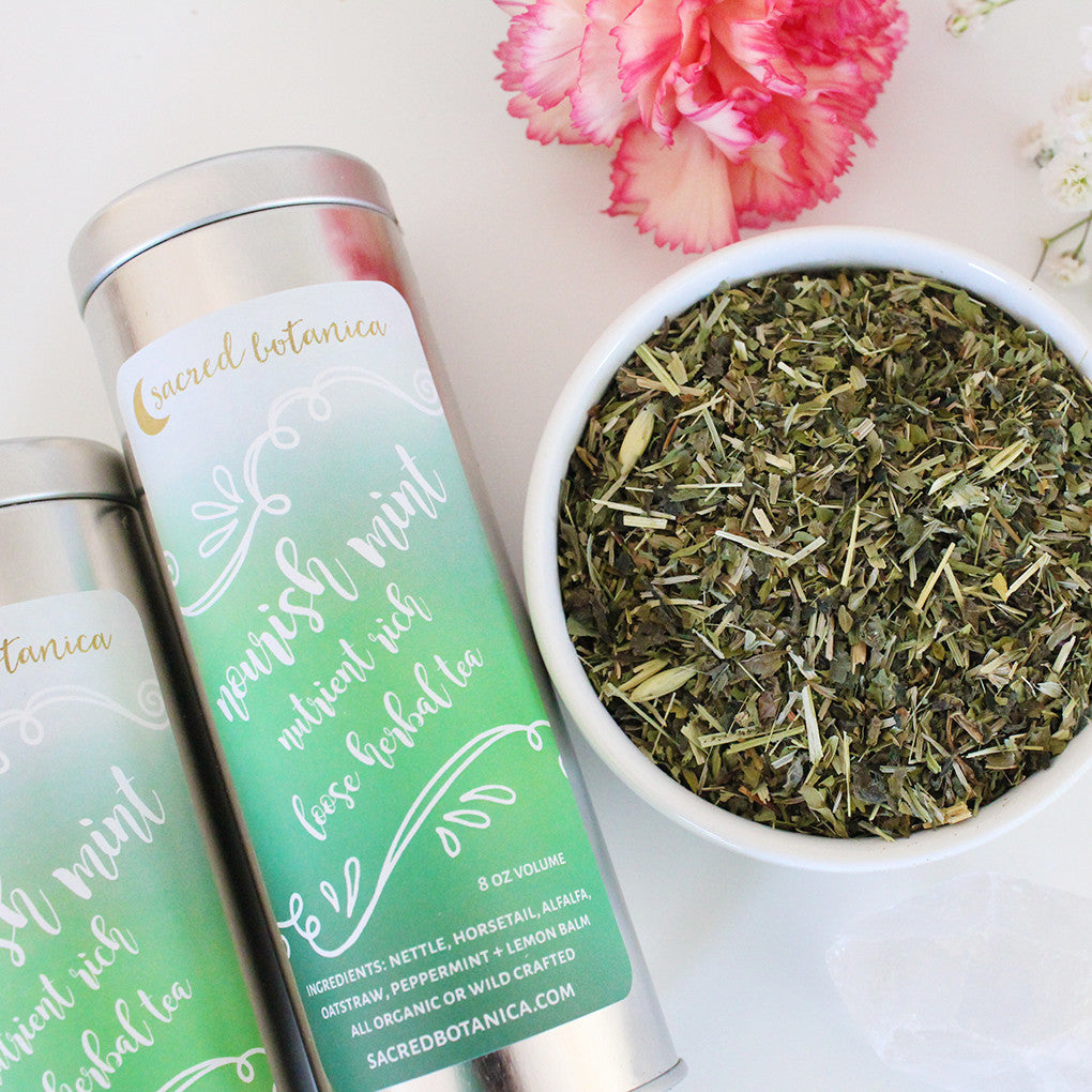 Nourish-mint Tea