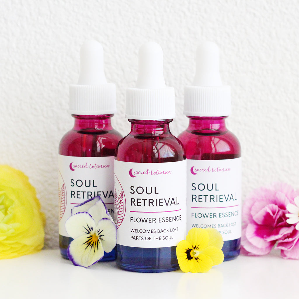 Soul Retrieval Flower Essence