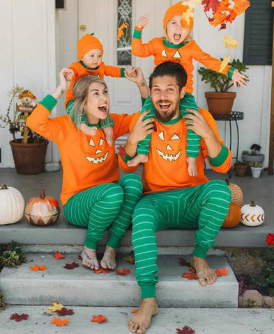 Family Matching Halloween Pajamas