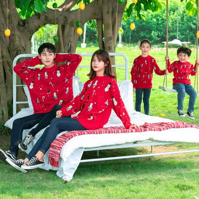 Family Matching Christmas Sweater - dresslikemommy.com