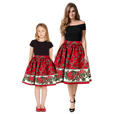 Matching Christmas Mommy And Me Dresses - dresslikemommy.com
