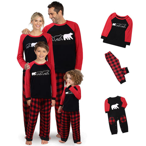Matching Family Polar Bear Pajamas Xmas - dresslikemommy.com