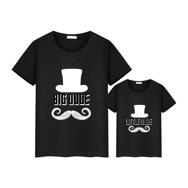 Daddy & Me Big Dude Little Dude T-shirt - dresslikemommy.com