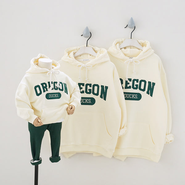 Family Matching Oregon Ducks Hoodie - dresslikemommy.com
