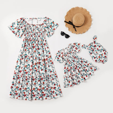 Mother and Daughter Classic Floral Dress - dresslikemommy.com