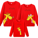 Family Matching Giraffe Sweater - dresslikemommy.com