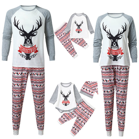 Christmas Family Matching Sleepwear Pajamas Sets - dresslikemommy.com