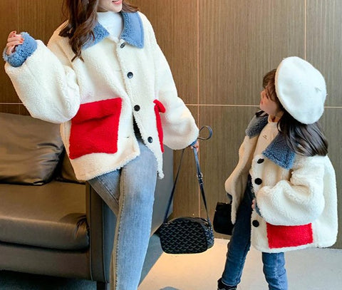 Mother & Daughter Matching Wool Sweater - dresslikemommy.com