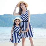 Sleeveless Chevron Pattern Dress Mommy & Me - dresslikemommy.com
