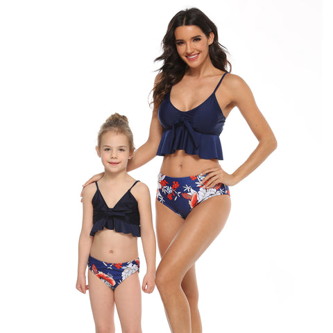 Matching Mother Daughter Bikini Swimsuit - dresslikemommy.com