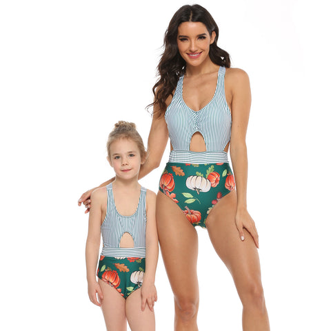 Matching Mommy & Me One Piece Swimsuit - dresslikemommy.com