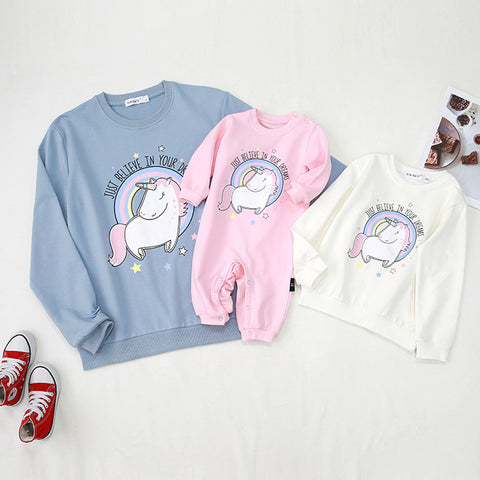 Mommy & Me Matching Unicorn Sweater - dresslikemommy.com
